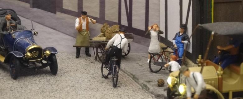 Die Verkehrsentwicklung um 1910