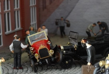 Ein Unfall im Jahre 1905