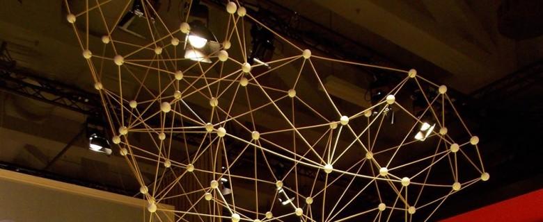 Molekülmodell für die IFA in Berlin